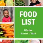 Arizona WIC Programs Authorized Food List Effective October 1, 2020