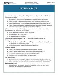 Asthma Fact Sheet