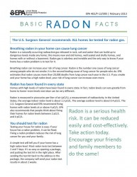 Basic Radon Facts