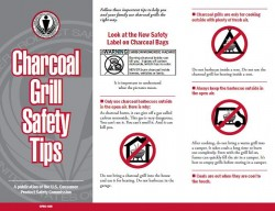 Charcoal Grill Safety Tips