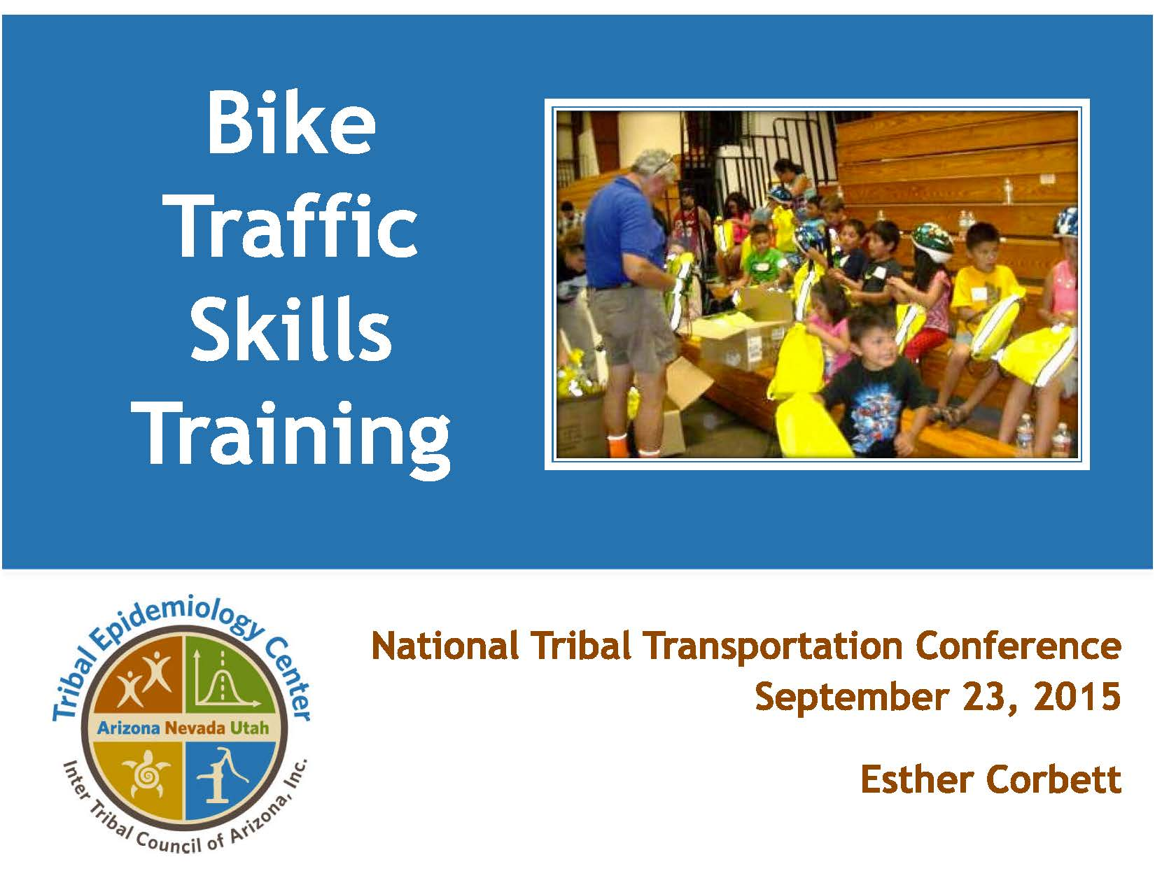 Bike Traffic Skills Training