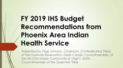 Phoenix Area Report Slide Presentation FY 2019
