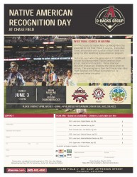 Native American Recognition Day at Chase Field