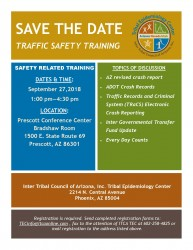 Traffic Safety Training_Save the Date