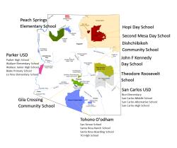 2021 School Map