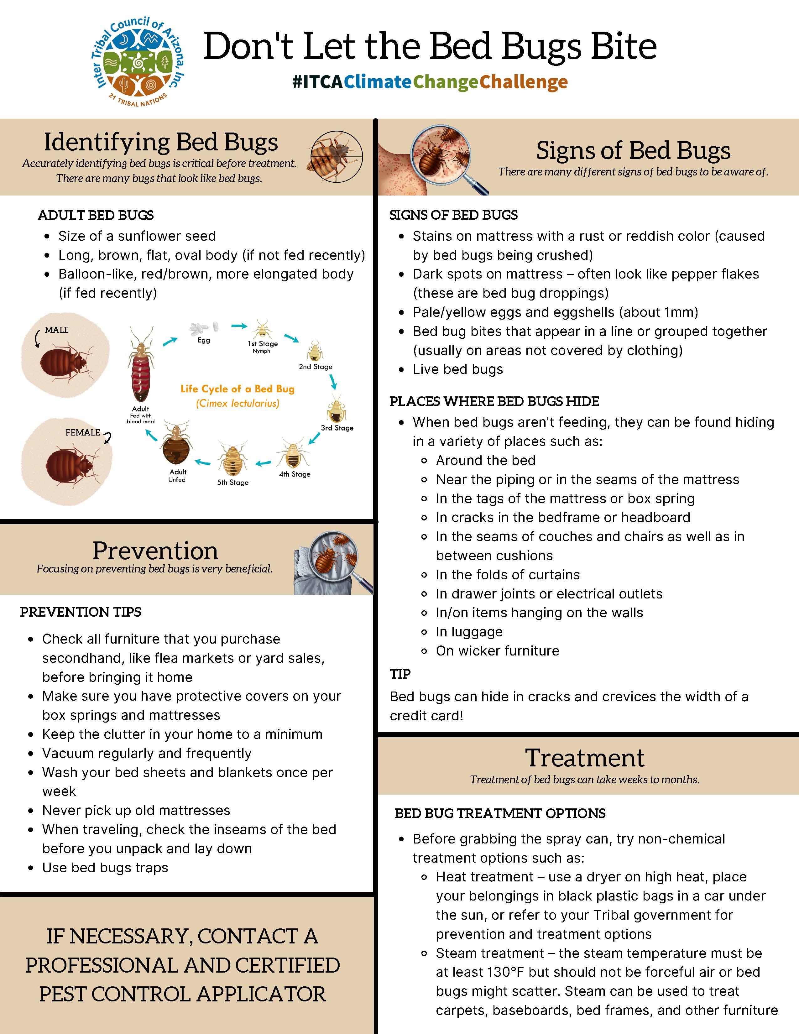 Bed Bug Fact Sheet