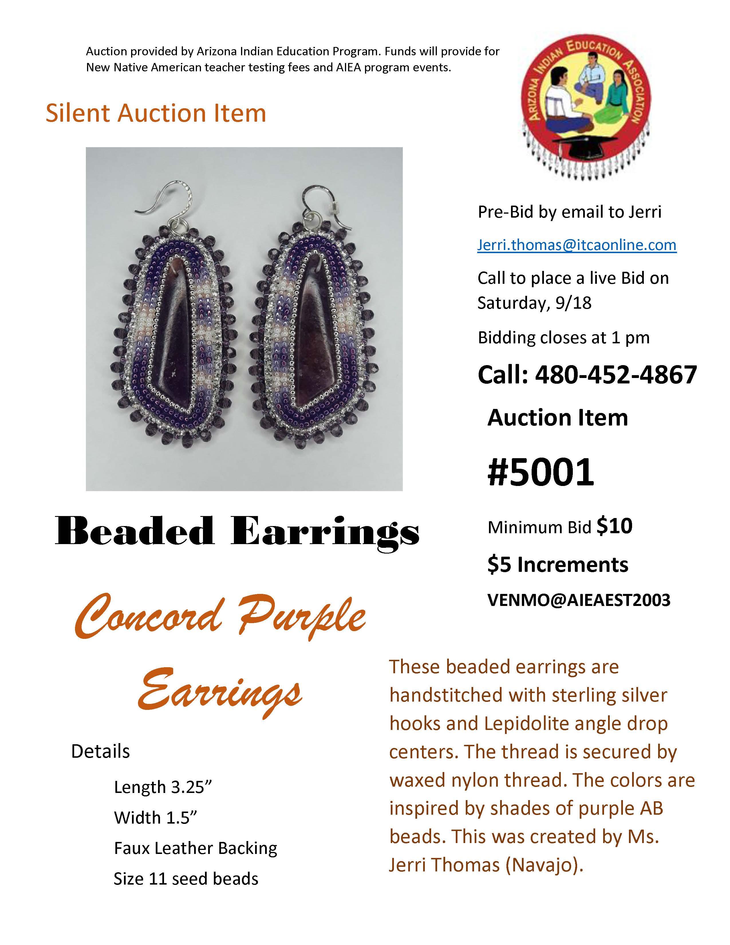 AIEA Silent Auction Item #5001