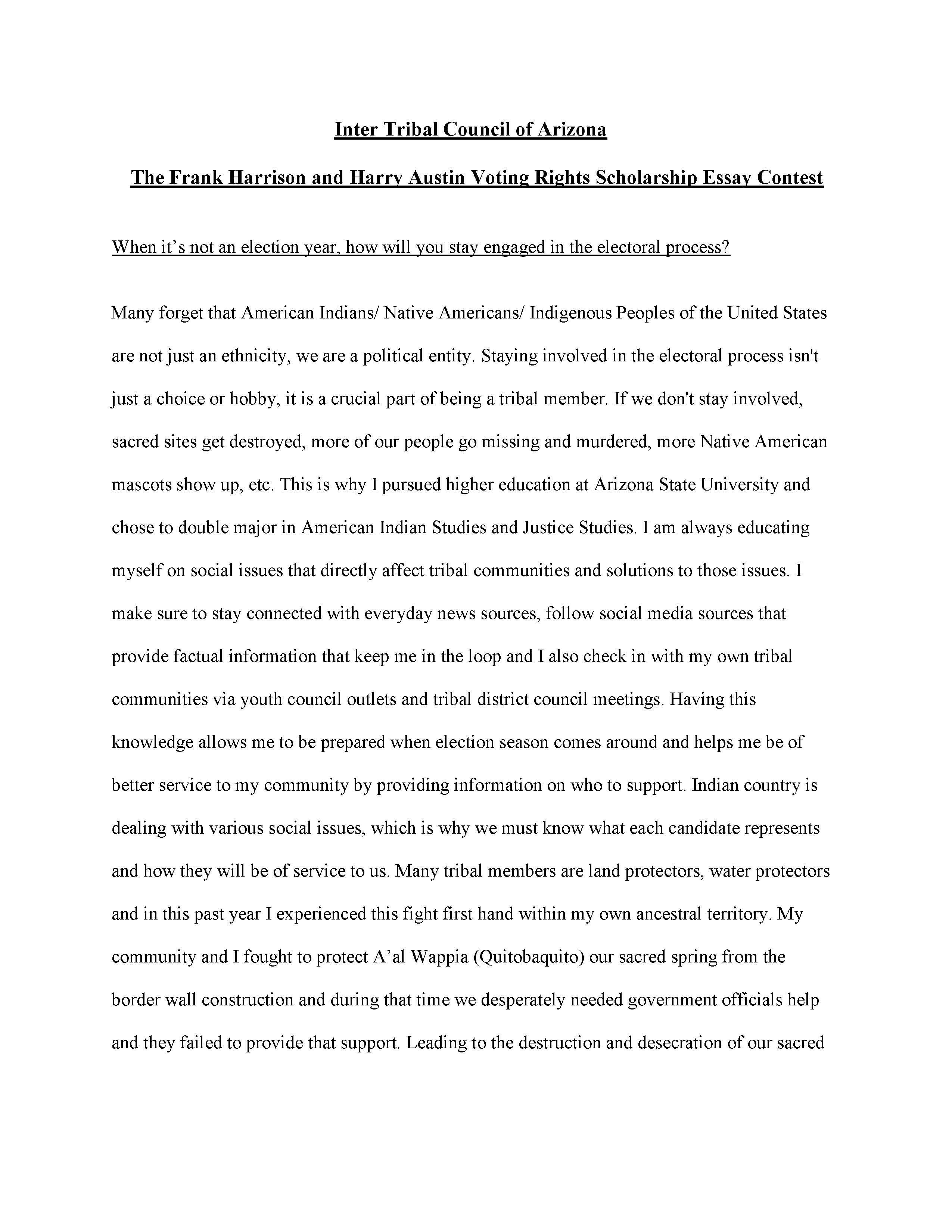 Lourdes Pereira Essay